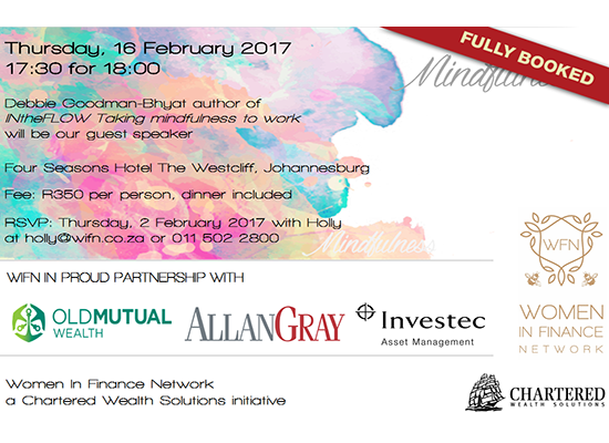Woman in Finance – Mindfulness Keynote [Event]